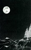1st face of 3 faces in the moon-full moon image