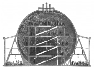 http://en.wikipedia.org/wiki/File:Greatglobe_sectional.png