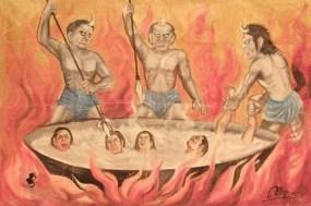 Buddhist Hell - Wikipedia - Public Domain