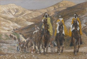Brooklyn Museum - The Magi Journeying James Tissot - US public domain