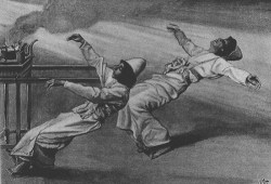http://commons.wikimedia.org/wiki/File:Tissot_The_Two_Priests_Are_Destroyed.jpg