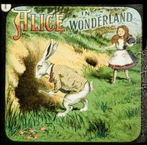 http://vintageprintable.com/wordpress/vintage-printable-juvenile-educational/juvenile-alice-in-wonderland-white-rabbit-2/