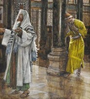 http://commons.wikimedia.org/wiki/File:Tissot_The_Pharisee_and_the_publican_Brooklyn.jpg