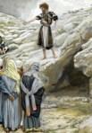 Saint John the Baptist and the Pharisees - James Tissot - Wikipedia - Public-Domain