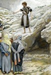 Saint John the Baptist and the Pharisees - James Tissot - Wikipedia - Public-Domain