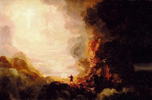 http://commons.wikimedia.org/wiki/File:ThomasCole-Pilgrim_Cross_End.jpg