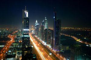 http://en.wikipedia.org/wiki/File:Dubai_night_skyline.jpg