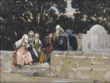 tissot-the-pharisees-and-the-herodians-conspire-against-jesus- www.joyfulheart.com pub dom