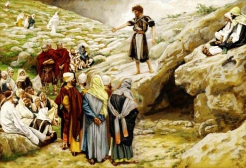 John the Baptist by J. Tissot - Wikimedia Commons - US Public Domain