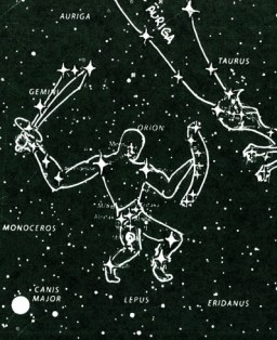 Orion the Soldier Star Chart wikipedia