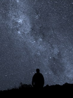 http://en.wikipedia.org/wiki/File:Starry_Night_at_La_Silla.jpg