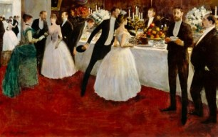Forain - The Buffet - Wikimedia - US Public Domain