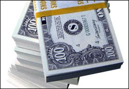 http://commons.wikimedia.org/wiki/File:Stack_of_money.jpg