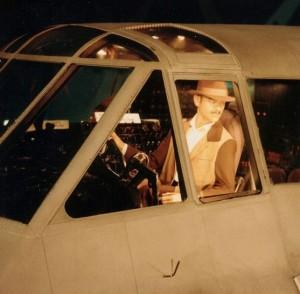 http://commons.wikimedia.org/wiki/File:Howard_Hughes_piloting_Spruce_Goose.jpg