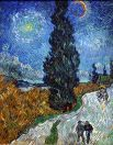 http://en.wikipedia.org/wiki/File:Van_Gogh_-_Country_road_in_Provence_by_night.jpg