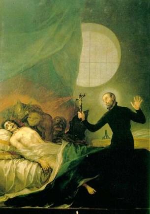 Saint francisborgia exorcism - Wikipedia -Public-Domain