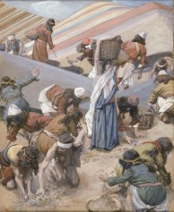 http://commons.wikimedia.org/wiki/File:Tissot_The_Gathering_of_the_Manna_(color).jpg