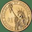 Lineart Presalident Reverse side - Wikipedia - Public Domain