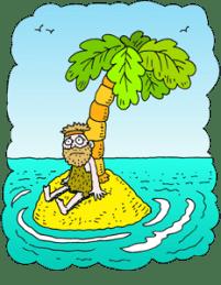 desert island - credit ChristArt.com.