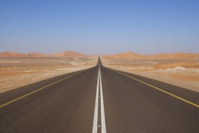 http://commons.wikimedia.org/wiki/File:Desert_road_UAE.JPG