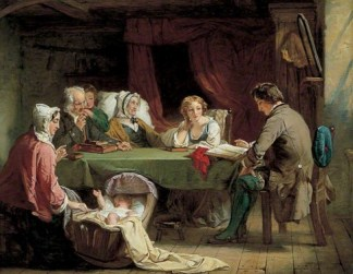 http://commons.wikimedia.org/wiki/File:Sabbath_Eve.jpg