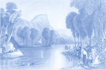 River of Water of Life - H. Melville - Wikimedia - US Public Domain