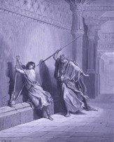 Sadducees Question Jesus - by Harold Copping - www.wikigallery.com - public domain