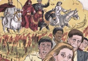 https://commons.wikimedia.org/wiki/File:Book_of_Revelation_Chapter_9-1_%28Bible_Illustrations_by_Sweet_Media%29.jpg