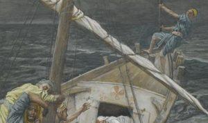 http://www.wikiart.org/en/james-tissot/jesus-sleeping-during-the-tempest-je-sus-dormant-pendant-la-tempe-te