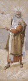 http://commons.wikimedia.org/wiki/File:Tissot_Moses_and_the_Ten_Commandments.jpg