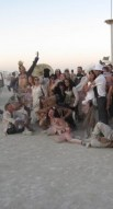 http://commons.wikimedia.org/wiki/File:Burning_Man_2013_Photo_chapel,_The_wedding_party!_(9660390094).jpg