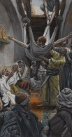 http://commons.wikimedia.org/wiki/File:Brooklyn_Museum_-_The_Palsied_Man_Let_Down_through_the_Roof_(Le_paralytique_descendu_du_toit)_-_James_Tissot_-_overall.jpg