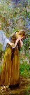 http://commons.wikimedia.org/wiki/File:Fritz_von_Uhde_-_Weib,_warum_weinest_du_(1892-94).jpg