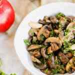 sautéed mushrooms white wine