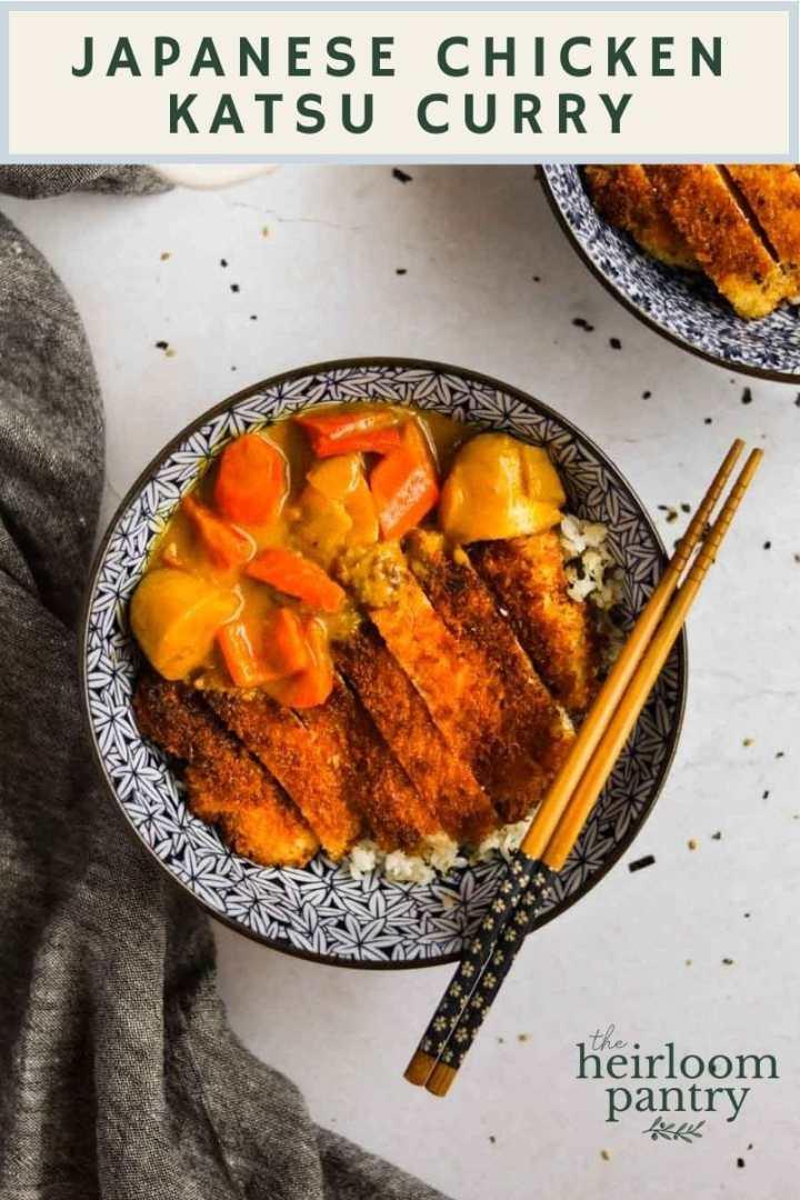 Chicken Katsu Curry - The Heirloom Pantry