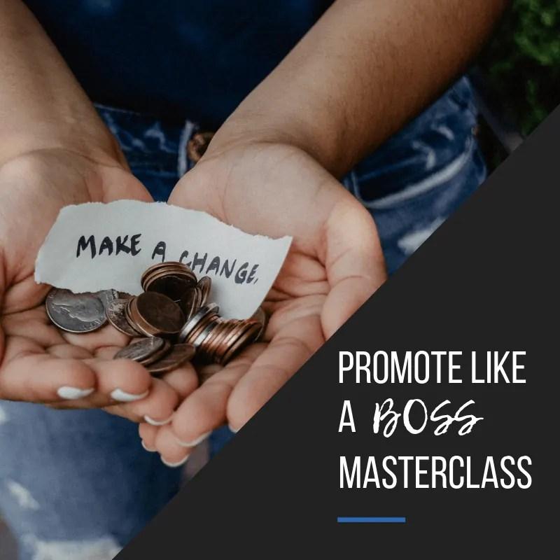 Promote like a BOSS Masterclass square