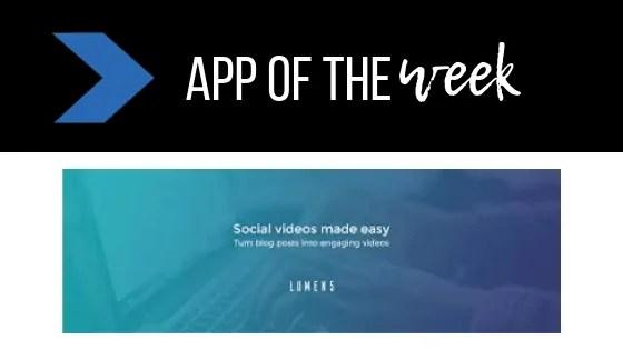 Make branded videos with Lumen 5