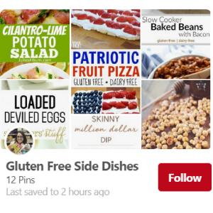 Gluten-Free Side Dishes Pinterest Board--The Helpful GF
