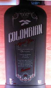 Dictador Colombian Aged Gin Black