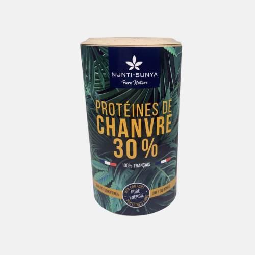 Protéines de chanvre 30% | Nunti-Sunya