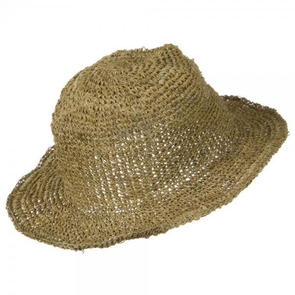 1386f41e Big Brim Hemp Bucket Hat – Dark Natural