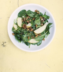 Baby Spinach Mulberry Salad