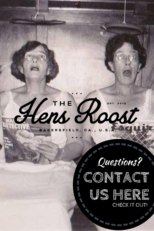 The Hens Roost Contact Us Slide