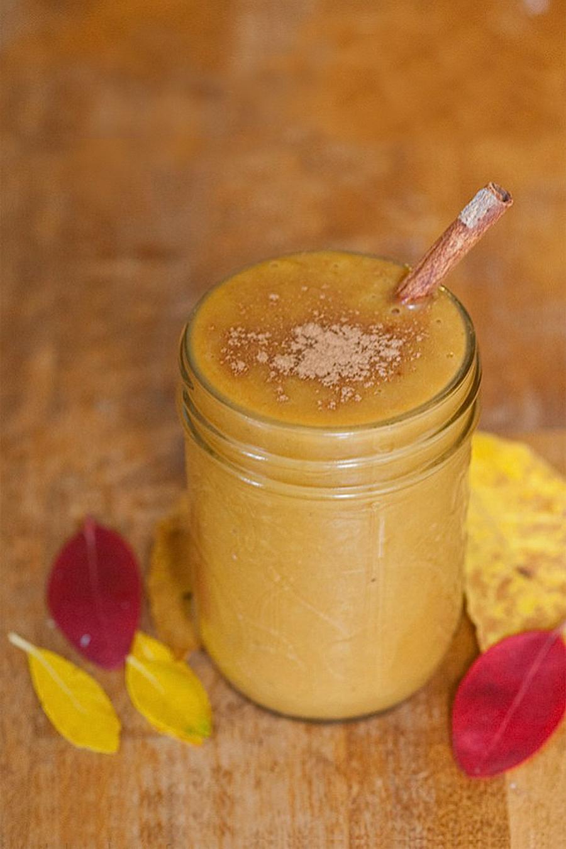 Immune Boosting Herbal Pumpkin Pie Smoothie by Herbal Academy
