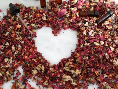 Happy Heart Herbs for Valentine's Day