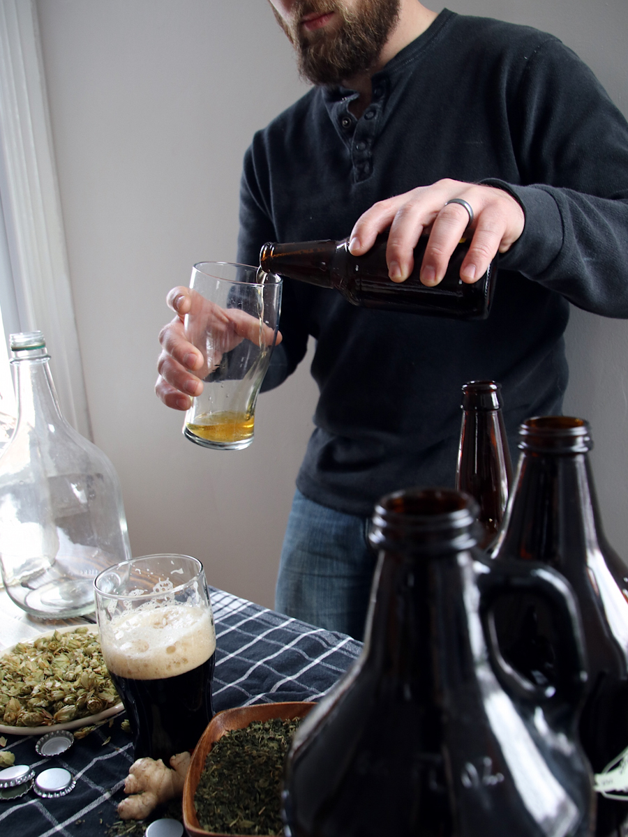 The Craft of Herbal Fermentation Course by Herbal Academy - pouring