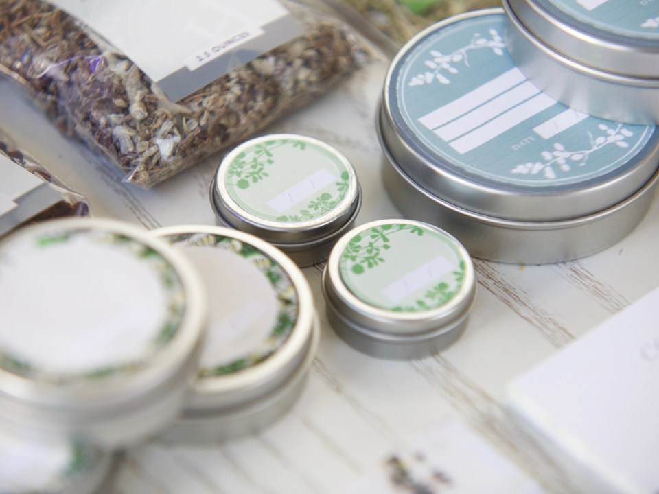 Herbal Apothecary Labels