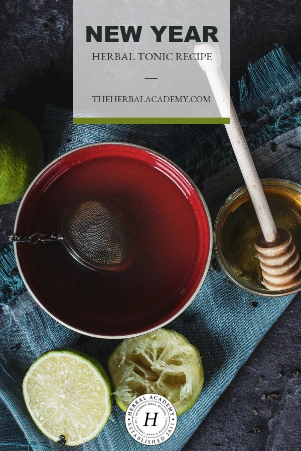 A New Year Herbal Tonic Recipe | Herbal Academy | Are you looking for a way to tone and increase vital energy in the body? Try this new year herbal tonic to attain more stamina and feel more alive!