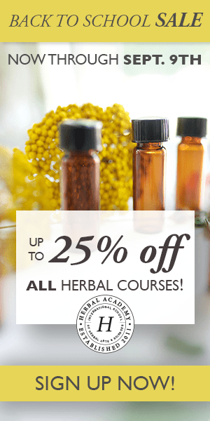 Aug 18 - Sept 9 25% off Courses for Back to School