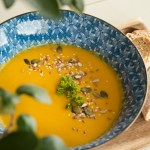 A Warming Turmeric Cauliflower Soup For Chilly Winter Days   Herbal Academy   There is nothing better than a warm bowl of soup on a chilly winter's day. Give our Turmeric Cauliflower Soup a try and stay warm!
